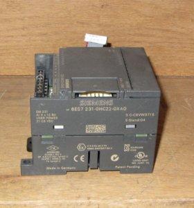 Модуль аналогового ввода Siemens 231-0HC22-0XA0
