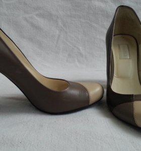 """Туфли из натуральной кожи """"AlberTo.A"""""""