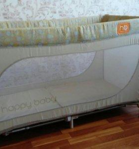 Кроватка-манеж (туристическая) Happy Baby Martin