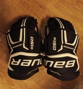 Краги, перчатки хоккейные BAUER S150