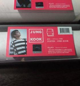 BTS On stage poster Jungkook