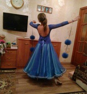Спортивные бальные танцы. Платье. Стандарт.