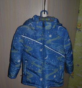 Куртка зимняя детская новая