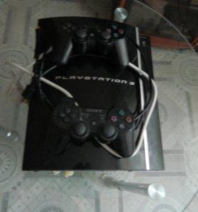 PlayStation 3 (2 геймпада )