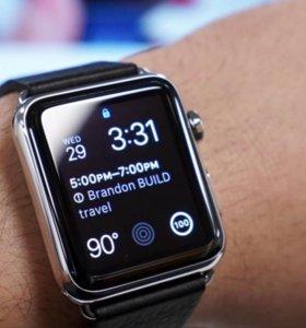 Apple Watch стальные в отличном состоянии