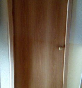 Дверные коробки деревянные (б/у)