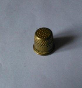 Наперсток латуневый из СССР