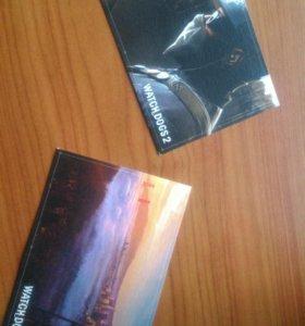 Коллекционные карточки Watch Dogs 2.