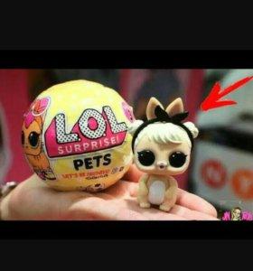 Лол петс lol pets шарик кукла