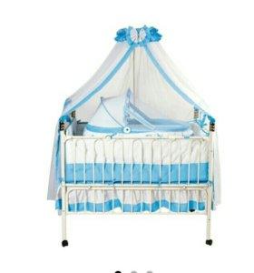 Кроватка детская Geoby TLY