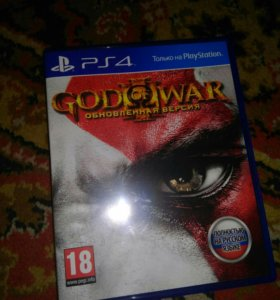 Игра на ps 4 god of war