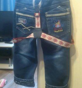 Детские новые джинсики