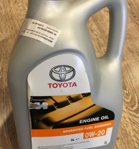 Масло Toyota 0w-20 (1литр)