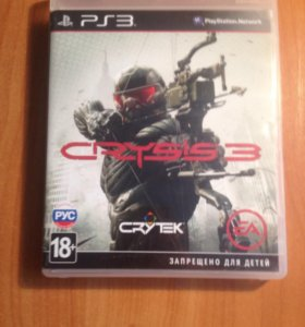 Диск на PS3. CRYSIS 3.