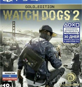 Watch Dogs 2 Gold edition [PS4, русская версия]