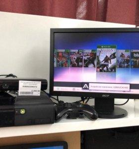 Xbox 360 + Fifa 18 +Kinect + Любые игры + Гарантия
