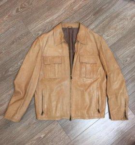 Мужская куртка (кожа)