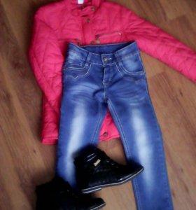 Весенняя одежда для девочки с 6 до 8 лет