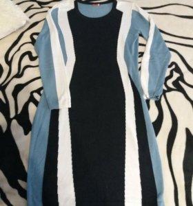 Вязаное платье фирмы Пеликан