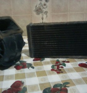 Радиатор и вентилятор для печки ВАЗ 2109