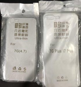 Чехлы на IPhone 7 и IPhone 7 Plus