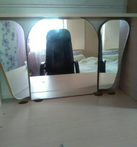 Зеркало настольное (для туалетного стола)
