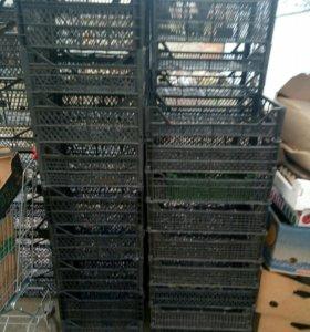 Ящики деревянные, пластикоовые