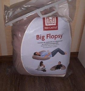 Подушка для мамы и малыша Big Flopsy Red Castle