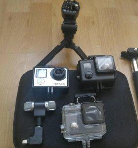 Экшн камера gopro 4 silver