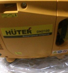 Генератор инверторный Huter DN2100 новый