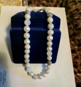 Ожерелье,жемчуг
