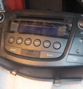Штатная магнитола Lifan X60 CD, MP3, флеш-USB