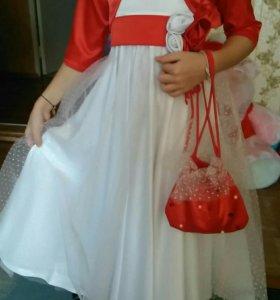Платье детское на выпускной
