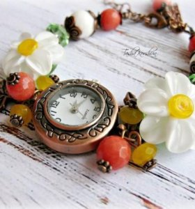 Часы ручно работы от Tasha Korshun