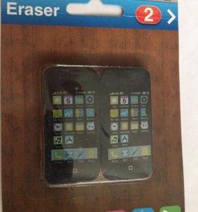 Ластик телефон айфон 4