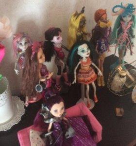 Куклы монстр хай оригинал
