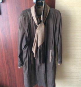 пальто женское casto pelle