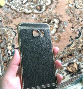 Чехлы на Samsung galaxy s6 edge 3 шт