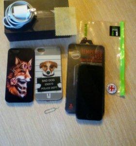 Iphone 5 64 gb тёмно синий бу