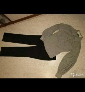 Блузка Mango и брюки новые
