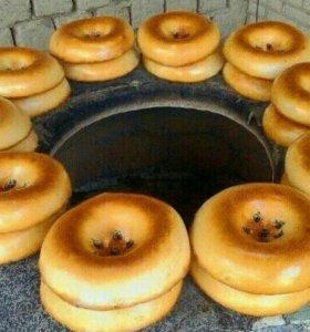 тандыр из глины узбекский