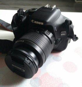 Canon 600 D 18-55