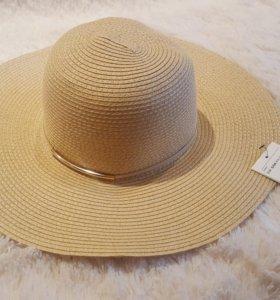 Соломенная шляпа. Новая.