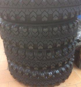 Новые шины на ниву