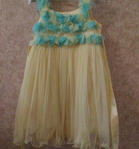 Красивое нарядное платье Турция 122-128
