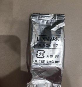 Картрдж для принтера lexmark black 17