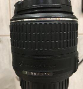 Объектив Nikon AF-S Nikkor 18-55 mm