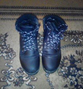 Зимние женские ботинки 39 р