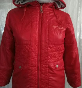 Куртка  на весну детская 7-9лет