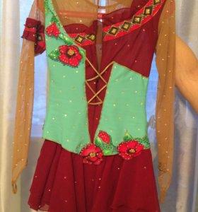 Фигурное платье